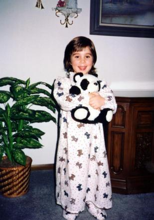 Age 6. :)